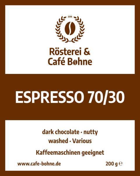 Espresso 70/30 Indien