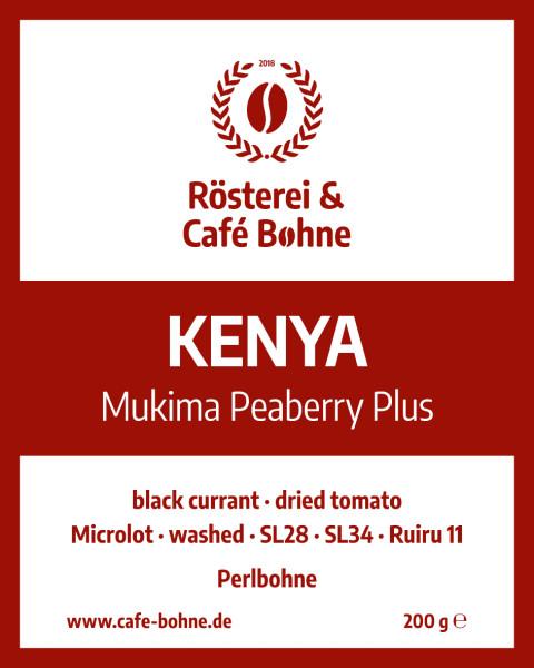 Kenya Mukima Peaberry Plus