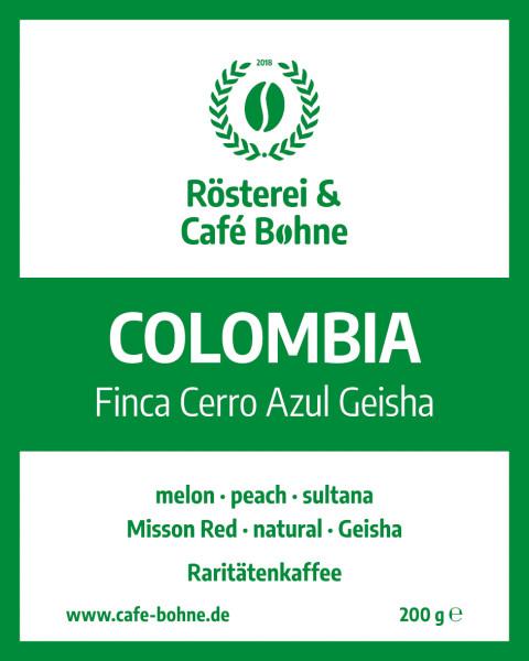 Colombia Finca Cerro Azul Geisha